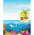 Beautiful underwater creatures