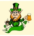 It is image of St Patrick vector image