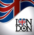 London england design vector image