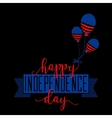 fourth july background felicitation classic vector image vector image