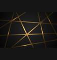 gold mosaic on dark background luxury golden vector image vector image