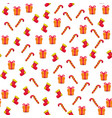 handmade plasticine seamless pattern vector image vector image