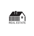 House for real estate business design vector image vector image