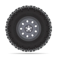 Off road vehicles wheel vector image vector image