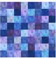seamless square grid pattern vector image