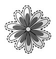single flower icon image vector image vector image