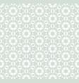 subtle geometric retro vintage seamless pattern vector image
