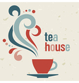 Tea house vector image vector image