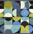 bauhaus seamless abstract modern pattern vector image vector image