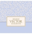 blue card design vector image vector image