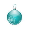 Christmas color ball vector image vector image