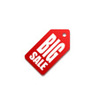 sale price tag badge template vector image