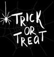 happy halloween hanwritten vector image vector image