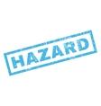 Hazard Rubber Stamp vector image vector image