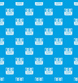 match score board pattern seamless blue vector image vector image