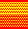 repeatable horizontal halftone backgrounds vector image