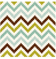 seamless retro zig zag texture pattern vector image vector image
