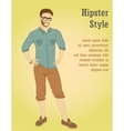 young handsome man in casual clothes or more vector image vector image
