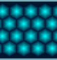 3d geometric seamless pattern vector image vector image