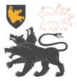 Black Cerberus vector image