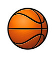cartoon stylized classic basketball vector image vector image
