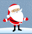cheerful santa claus vector image vector image