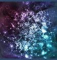 cosmic constellations abstract background vector image vector image
