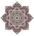 henna tattoo design mandala vector image vector image