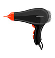 icon hairdryer vector image
