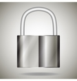 lock metal vector image