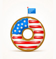 national donut day vector image vector image