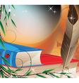 Fairytales books vector image
