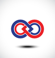 An attractive Infinity symbol vector image vector image