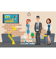 Business professional work Businesspeople or vector image vector image