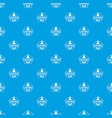 cleaning bottle pattern seamless blue vector image vector image