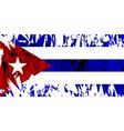 Flag of Cuba vector image