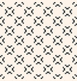 geometric seamless pattern ornamental tribal vector image