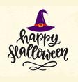 happy halloween banner template vector image