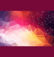 light multicolor layout with circles lines design vector image