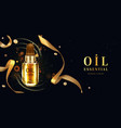 promon background with oil essential