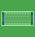 american football field background rugby stadium vector image vector image