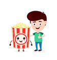 cute happy funny smiling young man vector image