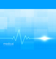 healthcare and medical background concept vector image vector image