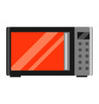 icon microwave oven vector image