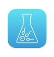 In vitro fertilisation line icon vector image vector image