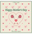 mom1 vector image vector image