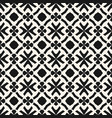 monochrome geometric pattern in ethnic style vector image