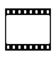 movie frame icon vector image vector image