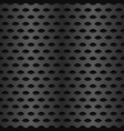 repeatable metal carbon texture vector image