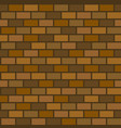 seamless pattern of brick wall vector image